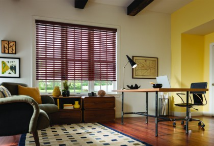 Faux Wood Blinds in Maui